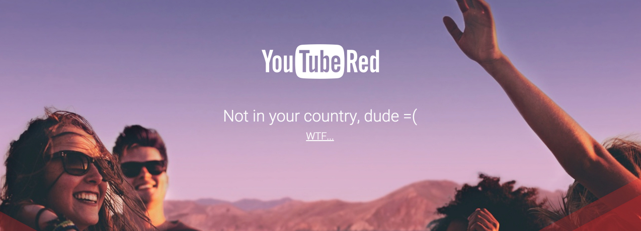 youtube red wtf
